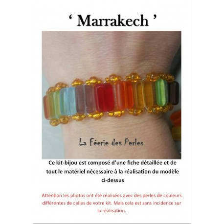 Kit Bracelet Marrakech