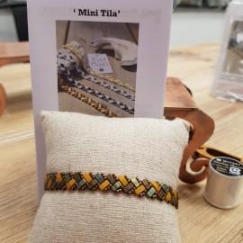 Kit Bracelet Mini Tila moutarde