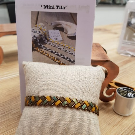 Kit Bracelet Mini Tila moutarde