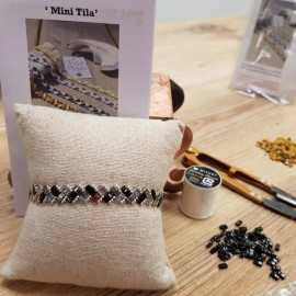 Kit Bracelet Mini Tila noir