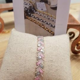 Kit Bracelet Mini Tila rose