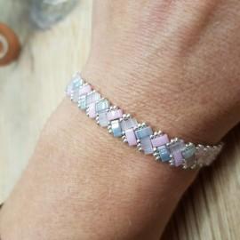 Bracelet Mini Tila rose