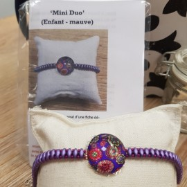 Kit Bracelet Mini Duo mauve