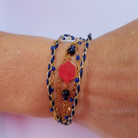Kit Bracelet Bohème bleu
