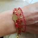 Kit Bracelet Bohème rouge