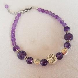 Bracelet Divine Améthyste