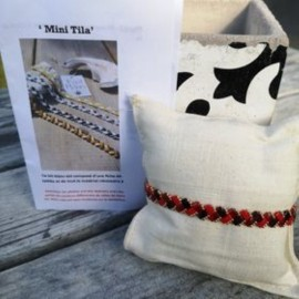 Kit Bracelet Mini Tila grenat