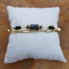 Bracelet Zoë noir