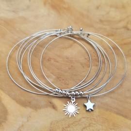 Bracelet Semainier argenté