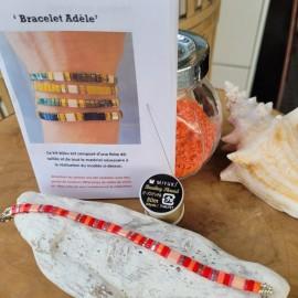 Kit Bracelet Adèle grenadine