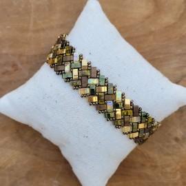 Bracelet Tila Kaki