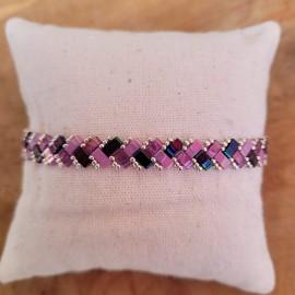 Kit Bracelet Mini Tila mauve