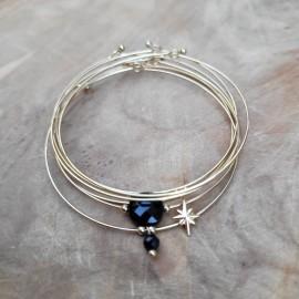 Bracelet Semainier Onyx
