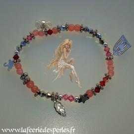 Bracelet Midinette Rose