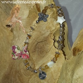 Bracelet Midinette Ambré