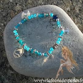 Bracelet Midinette Bleu