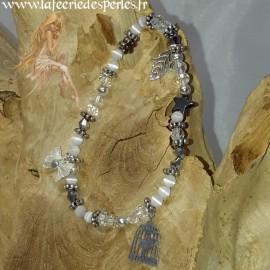 Bracelet Midinette Blanc