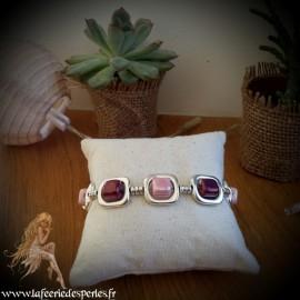 Bracelet Vladia violet
