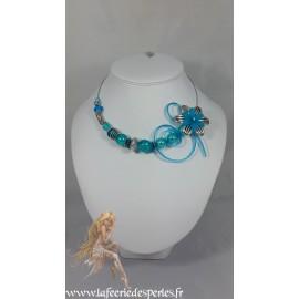 Capucine turquoise
