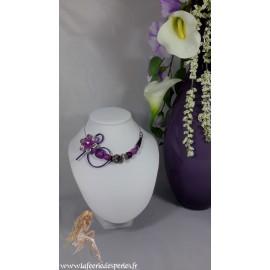 Capucine violette