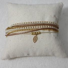 Bracelet Malaga nature